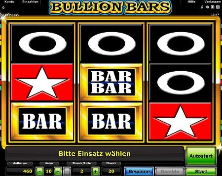 Bullion Bars online spielen