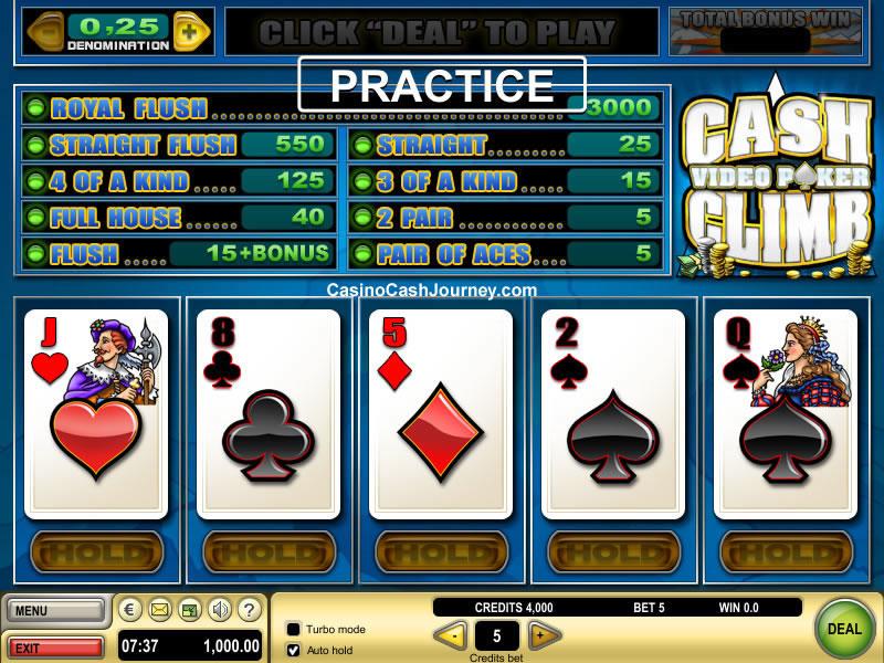 Spielautomat Cash Climb Poker