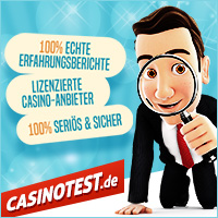 Online Casino Test auf casinotest.de