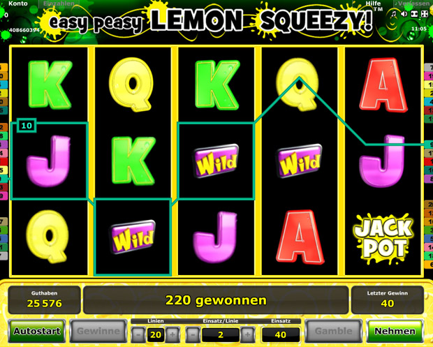 Easy Peasy Lemon Squeezy spielen