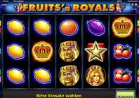 Fruits and Royals