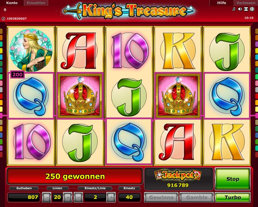 King's Treasure Gewinnen