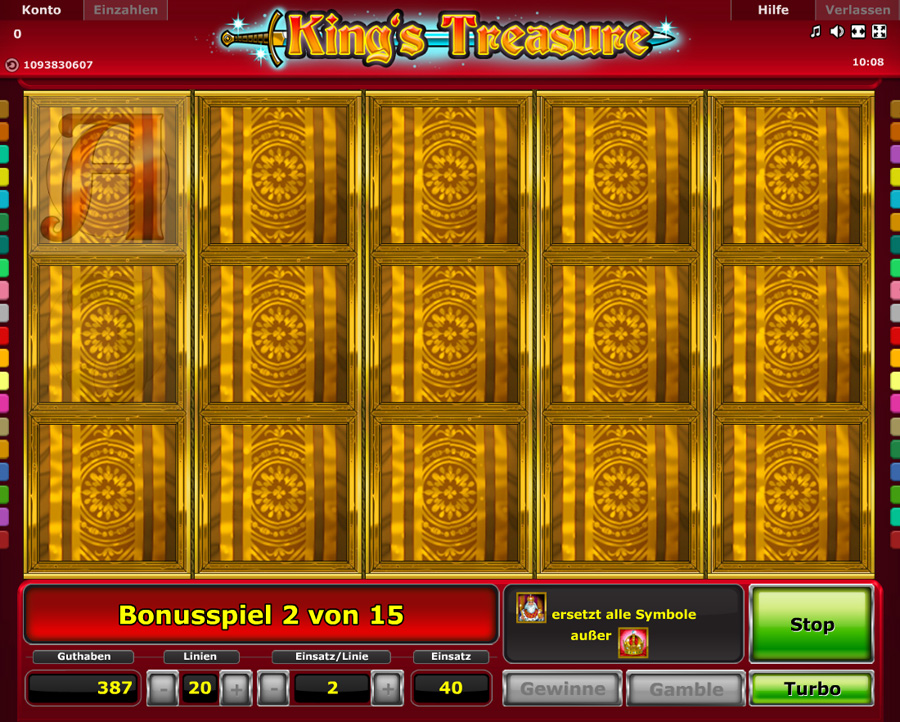 King's Treasure kostenlos spielen