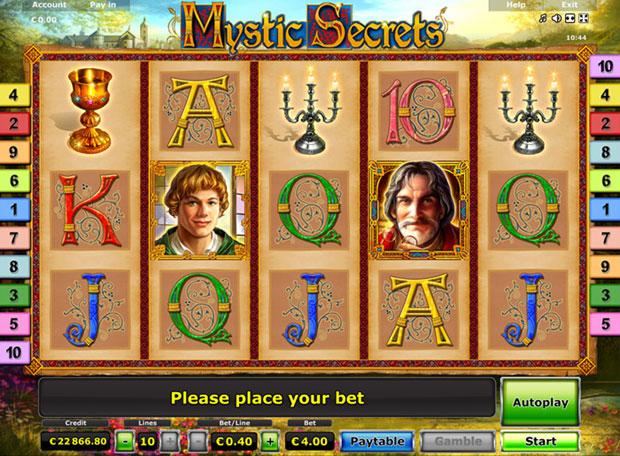Mystic Secrets Online spielen