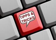 Tipps und Tricks in der Funktionsweise