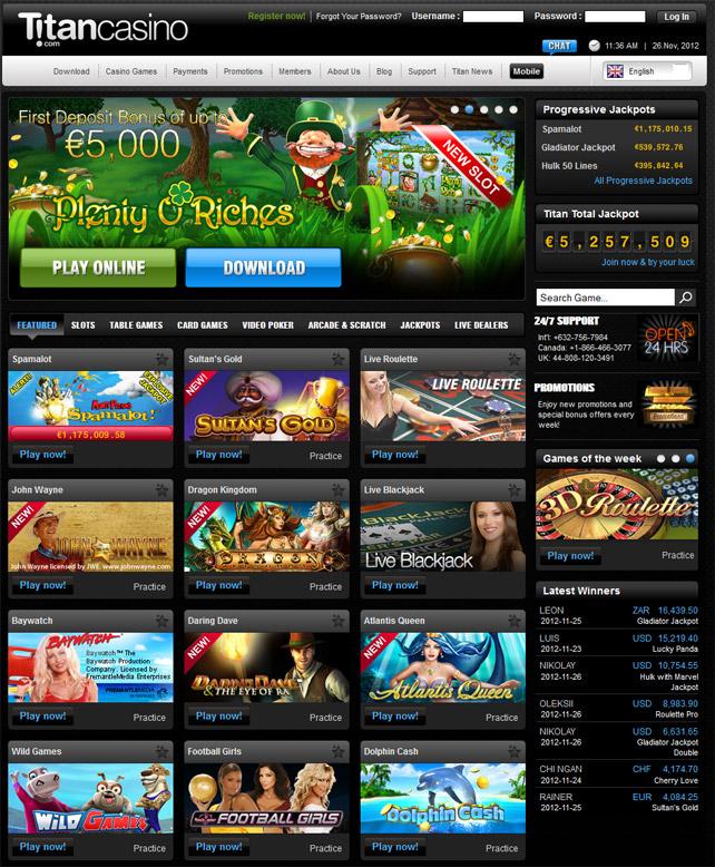 Casino Titan Erfahrungen