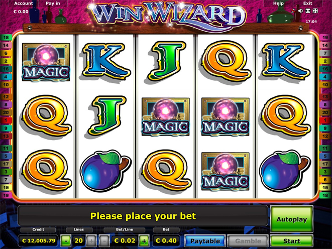 online casino mit startguthaben wizards win